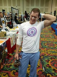 Need references for my Hawkguy cosplay. #dragoncon2014