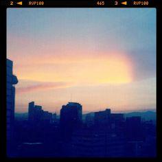 Nuvol #cloud #destello #red&blue