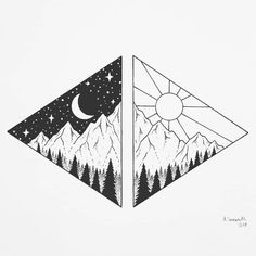 1320 Likes 18 Comments Anette Sommerseth anka Cool Art Drawings, Pencil Art Drawings, Doodle Drawings, Art Drawings Sketches, Doodle Art, Easy Drawings, Art Sketches, Tattoo Drawings, Ink Illustrations