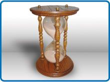 Rockler FREE Woodworking Plan - Hour Glass