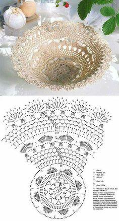 Best 6 Kira scheme crochet: Scheme crochet no. Filet Crochet, Crochet Doily Patterns, Crochet Designs, Crochet Doilies, Crochet Flowers, Vase Crochet, Thread Crochet, Crochet Decoration, Beautiful Crochet