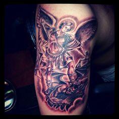 https://flic.kr/p/BXZtEY | Angel Tattoo | angel tattoo, engel tattoo, fallen angel tattoo | www.popo-shoes.nl