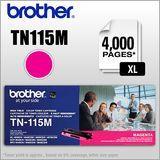 Brother - TN115M XL High-Yield Toner Cartridge - Magenta (Pink)