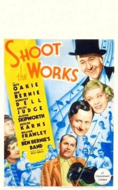 Shoot the Works Paramount Movies, William Frawley, Vintage Movies, Good Movies, Musicals, It Works, Cover, Sports, Movie Posters