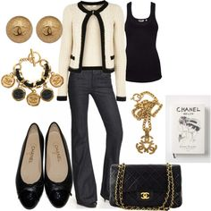 Slight Chanel Obsession, created by rosa-lauber on Polyvore