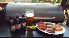 Pairing @pelletenvy #BBQ rubbed #pork chops, salt crusted baked potatoes, grilled #salmon with @sierranevada Oktoberfest 2016 on #MyTraeger Pro 34 Bronze tonight. Celebrating #NationalBeerLoversDay Prost! ♨ #BrewandBBQ #TraegerNation  #TraegerGrill #DasBoot #Oktoberfest #Tennessee Reposted Via @bluesandbarbq