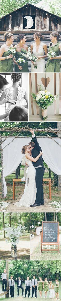 toptenlook: Camp Themed Weddings