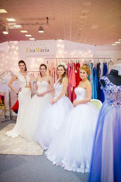 f24864e3a6c4 Salón EvaMária predstavil na svadobnej výsteva trendy svadobných šiat na  rok 2016