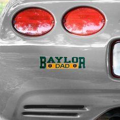 -Baylor Bears Dad Car Decal $5.95