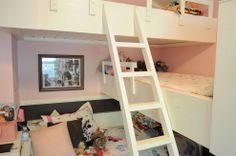 Girls' Room Triple Bunk Bed :: Hometalk