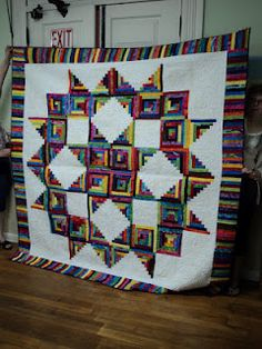 The pattern is Broken Star and it's gorgeous.