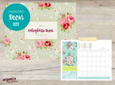 Calendário e Planner Decor para 2017!