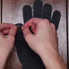 Give Gloves a Touchscreen Makeover