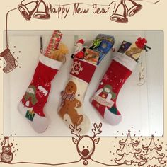 Eine schöne Tradition, die wir in unsere deutsch-amerikanische Ehe übernommen haben, ist die Überreichung von Stockings am ersten Weihnachtstag in der Früh. (So früh nun auch wieder nicht). Stockin...