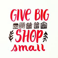 When you shop small and local businesses, more than 50 of the money you spend stays in the community. Youre not only buying a unique gift, youre supporting individuals who took a chance on their dreams and work with passion every day. Small Business Quotes, Small Business Saturday, Support Small Business, Small Quotes, Family Business, Business Tips, Shop House Plans, Shop Plans, Buy Local