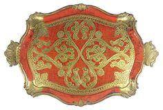 Red Florentine Tray on OneKingsLane.com