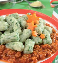 Malfatti de espinaca #receta #vegetariana #ñoquis