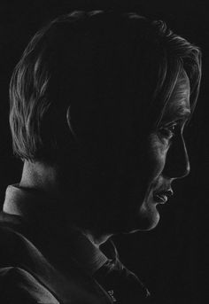 Danger Waits by naturalshocks on DeviantArt Black Paper Drawing, Nbc Hannibal, White Pencil, Mads Mikkelsen, Best Artist, Painting & Drawing, Sculpting, Things To Think About, Waiting