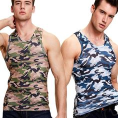 Shop For Cheap 2018 Men Military Style Men Running Vest Camouflage Tank Top Stretchy Wild Tight Gym Sport Skinny Bodybuilding Hot Selling Sports Clothing Vests