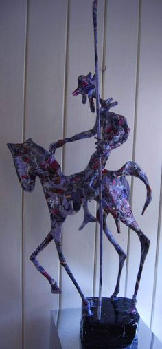 Awesome Unique Sculptures of Metal and Paper by Jean-François Glabik [ 70 Sculptures]
