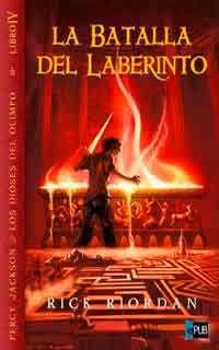 Percy Jackson: la batalla del laberinto de Rick Riordan