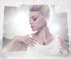 Meringue Montana Necklace - Jewelry - Swarovski Online Shop