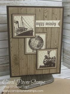 Stampin' Up! Stamper's Dozen Blog Hop May Edition, Masculine May! - Stampingroxmyfuzzybluesox