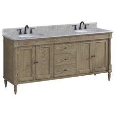 Fairmont Designs 142-V7221D Rustic Chic Bathroom Vanity