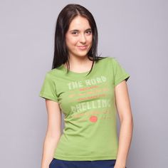 The Word Became Flesh Green Tee