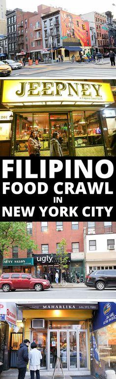 Filipino Food Crawl in New York City — Where to Eat in New York City Philippinisches Essen Crawl … New York City Guide, New York Travel Guide, New York City Travel, Filipino Food, Filipino Recipes, Florida Travel, Travel Usa, New York Essen, Ugly Kitchen