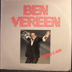 Ben Vereen Here I Am Vinyl LP Record Album -- SEALED!!