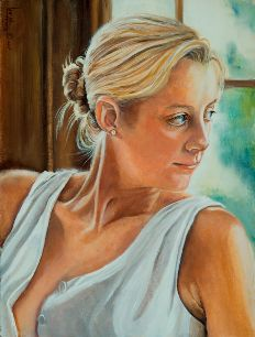Portraits by Clayton Artist - Lee Mims. http://www.leemimsartgallery.com/