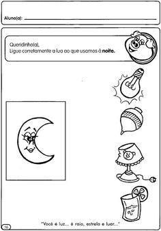 Atividades sobre dia e noite para os pequenos! ~ ESPAÇO EDUCAR