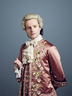 Outlander Season Two Prince Charles (Andrew Gower)
