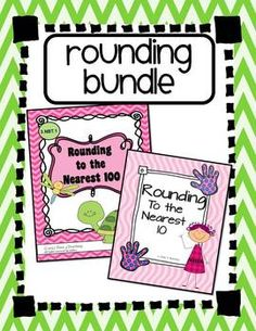 Rounding Bundle: Rounding to the Nearest 10 and Rounding to the Nearest 100. Lessons and games for math centers or to use in teaching your small groups.