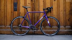 Quite a purple bike, then