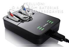 Cellion: o aparelho auditivo com baterias internas recarregáveis