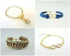 Pulseiras fofas www.renatapires.com.br #handmadeclub #renatapires #pulseiras #bijuterias #artesanato