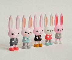 Los tiernos toy arts Bedtime Bunnies de Peter Kato y Andrea Kang