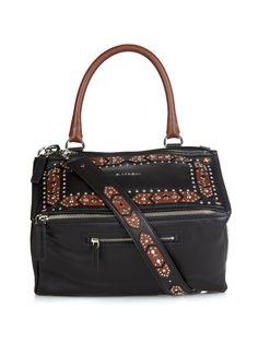 Pandora bi-colour sugar-leather shoulder bag | Givenchy | MATCHESFASHION.COM UK