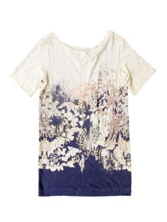Knit Floral Tunic