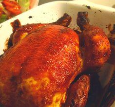 Aneta Goes Yummi: Pečené kukuričné kura v božskej Jamieho barbecue marináde