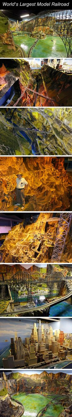 Amazing look at the largest model railroad in the world.