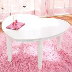 super cute heart table