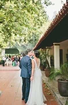 Blush & Nude Rancho Las Lomas Wedding - Inspired by This