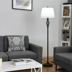 Gymax 3-Piece Lamp Set 2 Table Lamps 1 Floor Lamp Fabric Shades Living Room Bedroom for Sale in Yona, GU - OfferUp Living Room Vanity, Living Room Bedroom, Swing Arm Floor Lamp, Led Floor Lamp, Modern Lamp Sets, Desk And Chair Set, Living Room Flooring, Fabric Shades, Contemporary Decor