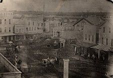 Grab Corners, Monroe & Pearl - c. 1860s