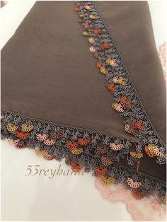 Saree Border, Crochet Accessories, Fabric Flowers, Cross Stitch, Embroidery, Design, Embroidery Stitches, Tutorials, Amigurumi