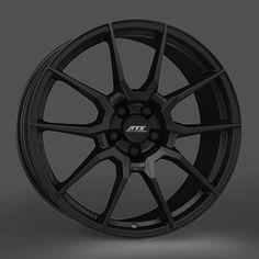 "ATS RACELIGHT - BLACK     5 stud   Available in sizes: 8.5x18"" 9.5x18"" 8.5x19"" 10.0x19"" 11.0x19"" 8.5x20"" 10.0x20"" 11.0x20"""