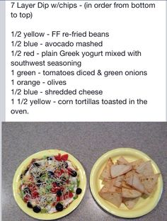 7 layer nachos 21 Day Fix